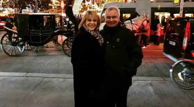 Eamonn Holmes and Ruth Langsford in Vienna