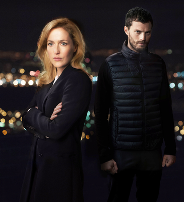 The Fall stars Gillian Anderson (DSI Stella Gibson) and Jamie Dornan, who portrays serial killer Paul Spector