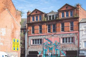 Part of North Street in Belfast as it currently stands
