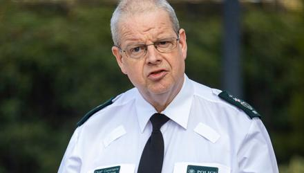 PSNI Chief Constable Simon Byrne