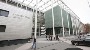 Imperial College London was ranked 10th in the list of the world's most international universities