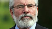 """Gerry Adams says unionist leaders must demonstrate they are """"serious about power-sharing"""""""