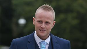 Jamie Bryson gave explosive evidence to Stormont's finance committee about the efforts of Ireland's bank for bad loans to dispose of its Northern Ireland portfolio to US investors