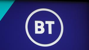 Tens of thousands of small businesses in Northern Ireland are to be helped back on their feet by BT (Mike Egerton/PA).