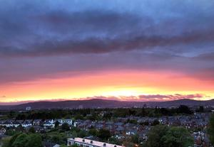 Cave Hill and Black Mountain in Belfast
