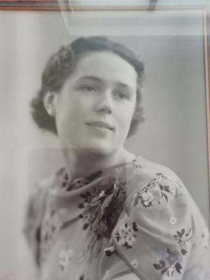 Ethel as a younger woman