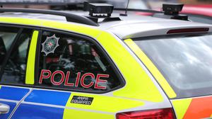 Police were attacked in a fifth night of disorder in Derry