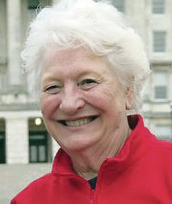 Solid supporter:  Dame Mary Peters