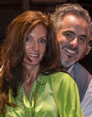 Feherty with wife Anita