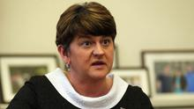 Arlene Foster has faced calls to step aside