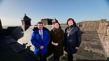 Carrickfergus Castle has a new roof after a £1 million conservation project (Communities Department/PA).