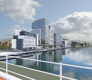 Tenancy fears: an artist's impression of how City Quays 3 will look