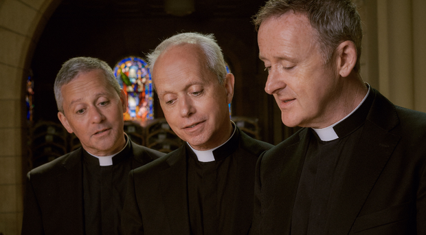 Northern Ireland's singing Catholic priests have been made MBEs (The Priests/PA)