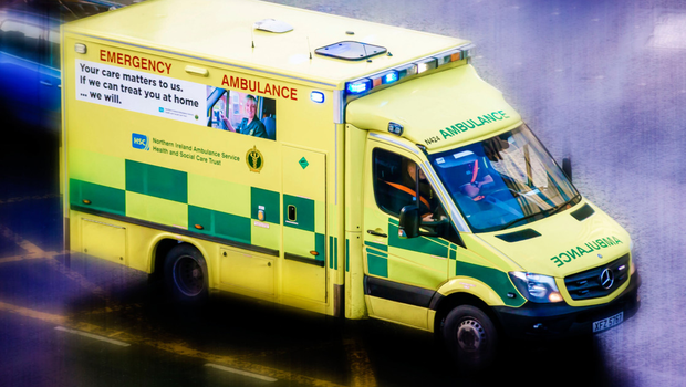 A motorcyclist has been taken to hospital after coming of his bike in Ballymoney (stock photo)