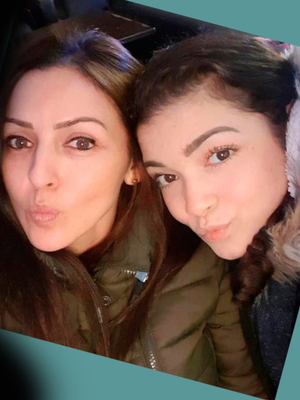 Giselle Marimon-Herrera (37) and her 15-year-old daughter, Allison