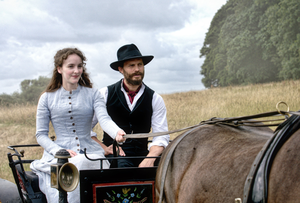 Jamie Dornan and Ann Skelly in scene from Death And Nightingales