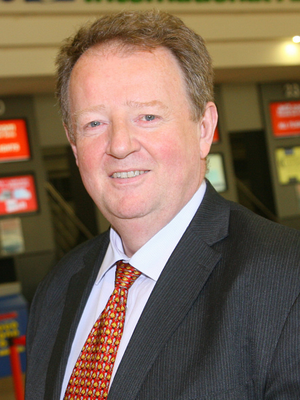 Belfast International Airport managing director Graham Keddie