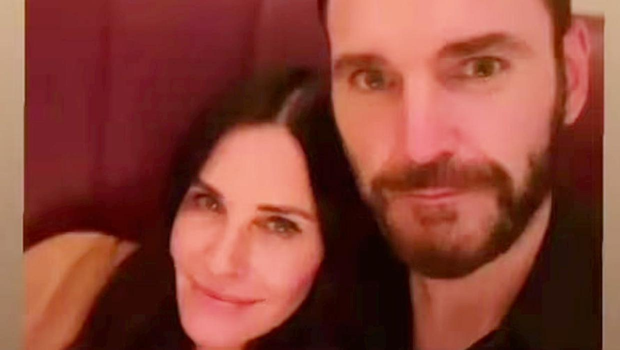 Friends star Courteney Cox admits separation from Snow Patrol's Johnny McDaid a trying time