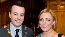 Colum Eastwood and wife Rachael