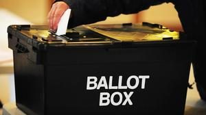 The Electoral Commission has fined four NI parties (Rui Vieira/PA)