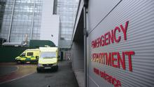 The Accident and Emergency department of the Royal Victoria Hospital