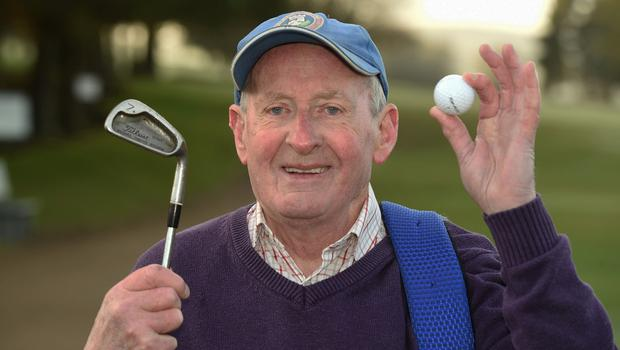 Bert Whoriskey has had two holes-in-one this year