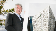 Optimistic: Tourism NI CEO John McGrillen is upbeat after a terrible year