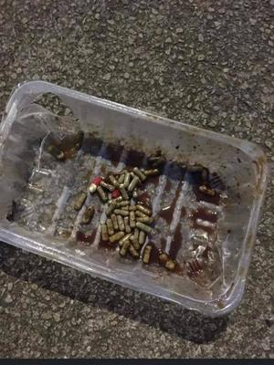 Tablets covered in gravy found on Comber Greenway