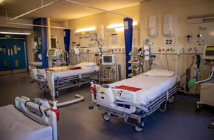 Northern Ireland Nightingale Hospital wards designed to treat coronavirus sufferers at Belfast City Hospital on April 7th 2020 (Photo by Kevin Scott for Belfast Telegraph)