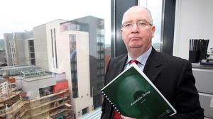 Northern Ireland's police ombudsman Dr Michael Maguire. (Paul Faith/PA)