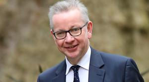 Chancellor of the Duchy of Lancaster Michael Gove (Aaron Chown/PA)