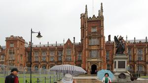 Queen's University in Belfast says it will have to slash student places