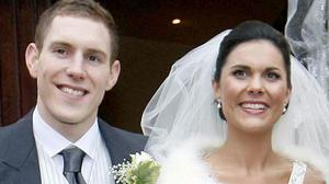John and Michaela McAreavey on their wedding day at St Malachy's Church, Ballymacilrory (Family handout/PA)