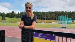 One of Ireland's top Olympic runners, Kerry O'Flaherty, donned racing spikes again for the first time in weeks as athletics tracks emerged from coronavirus lock down (Rebecca Black/PA)