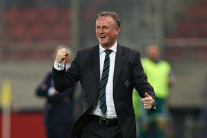 Northern Ireland manager Michael O'Neill who received an MBE in the New Year Honours list