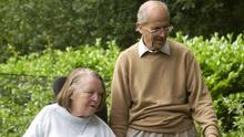 Lord Norman Tebbit and wife Lady Margaret Tebbit who was left paralysed after the IRA attack on the Grand Hotel, Brighton in 1984