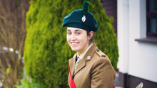 Ballymena Academy pupil Emmalee Wray will represent Northern Ireland's Cadets at Windsor Great Park's ceremony for the Queen's birthday celebrations where she will light the first beacon