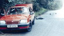 The scene of the murder of the two RUC officers Harry Breen and Bob Buchanan in south Armagh in 1989.