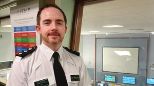 Chief Inspector Gerard Pollock welcomed the waiving of the charge (Rebecca Black/PA)