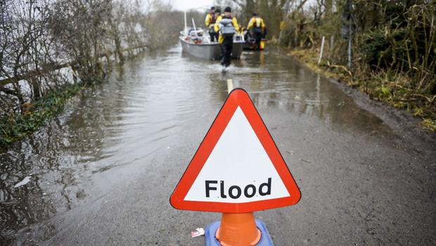 The Met Office is warning of potential flooding in Northern Ireland.