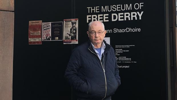 Mickey McKInney, whose brother was shot dead on Bloody Sunday (Michael McHugh/PA)