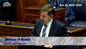 Stormont Health Minister Robin Swann. (NI Assembly/PA)