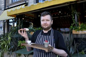 A Belfast hotel will be embracing the spirit of Pancake Tuesday today by putting the savoury treat firmly on the menu - and also tossing them out to the passing public for a 'flipping' great cause