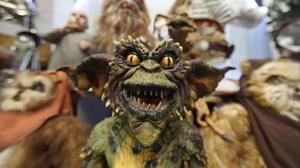 A Gremlins movie replica puppet auctioned at Wilsons Auctions in Mallusk Co Antrim