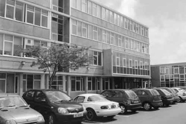 The Tower Street building that was formerly part of Belfast Metropolitan College