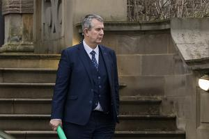 """Minister Poots said he did not favour introducing """"waste of time regulations"""" (Liam McBurney)"""