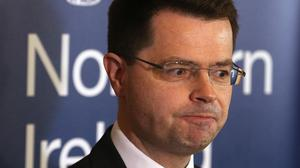 """James Brokenshire says there are """"important issues to be examined"""" in relation to criminal justice in Northern Ireland"""