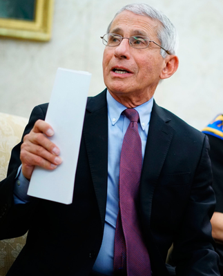 Trials: Dr Anthony Fauci
