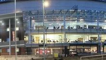 An artist's impression of the Waterfront Hall's new extension which will be completed by early 2016