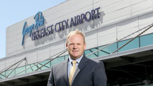 George Best Belfast City Airport is working 'around the clock' to make it as safe as possible for travellers, chief executive Brian Ambrose said (George Best Belfast City Airport/PA)
